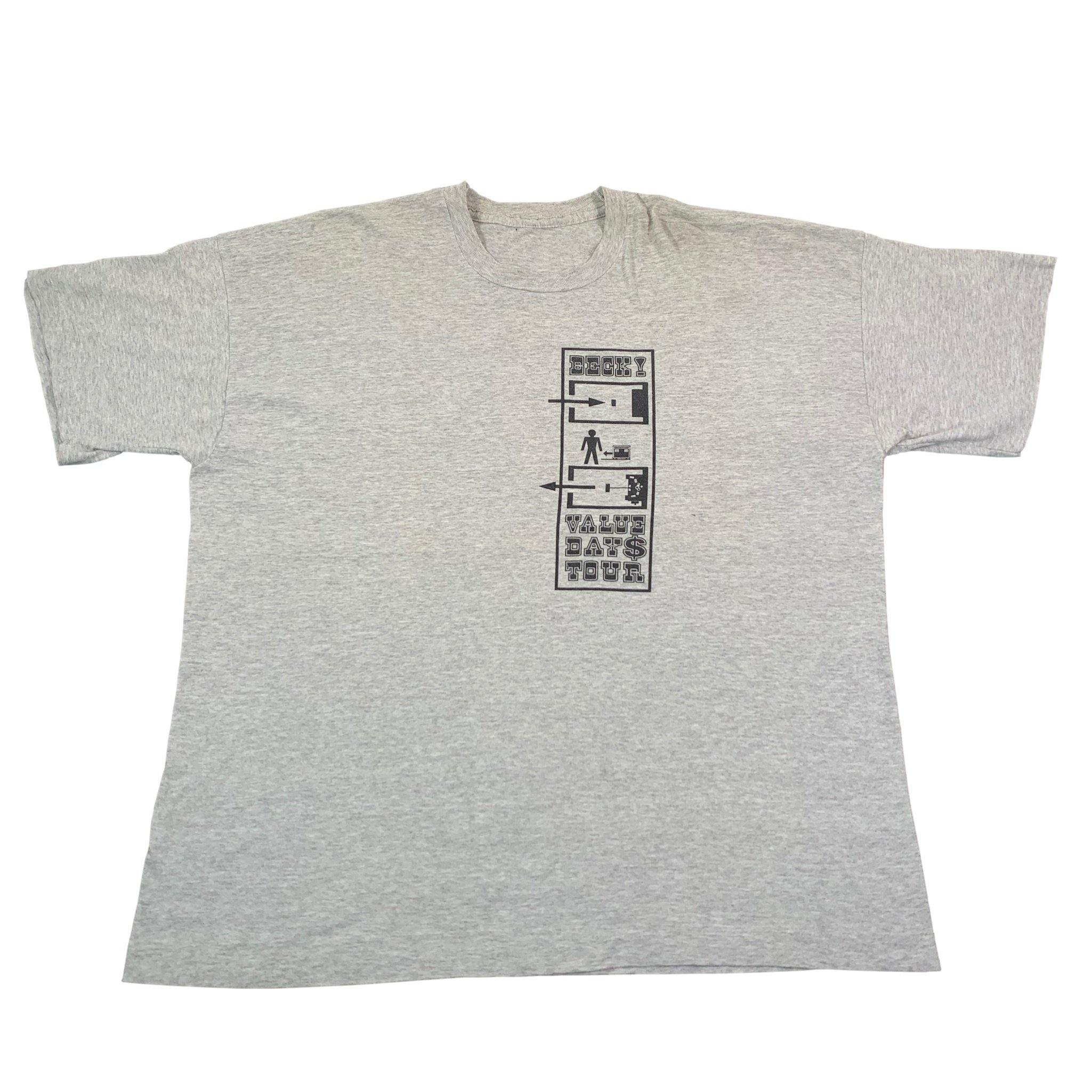 "Vintage Beck ""Value Day$"" Tour T-Shirt"