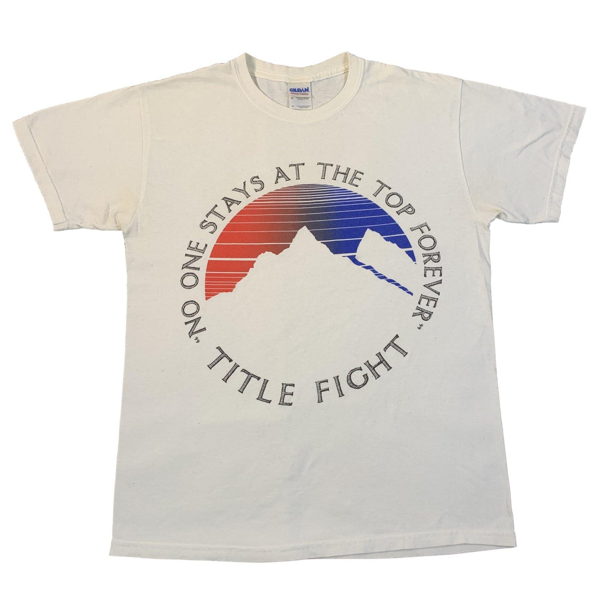 "Vintage Title Fight ""No One Stays At The Top Forever"" T-Shirt"