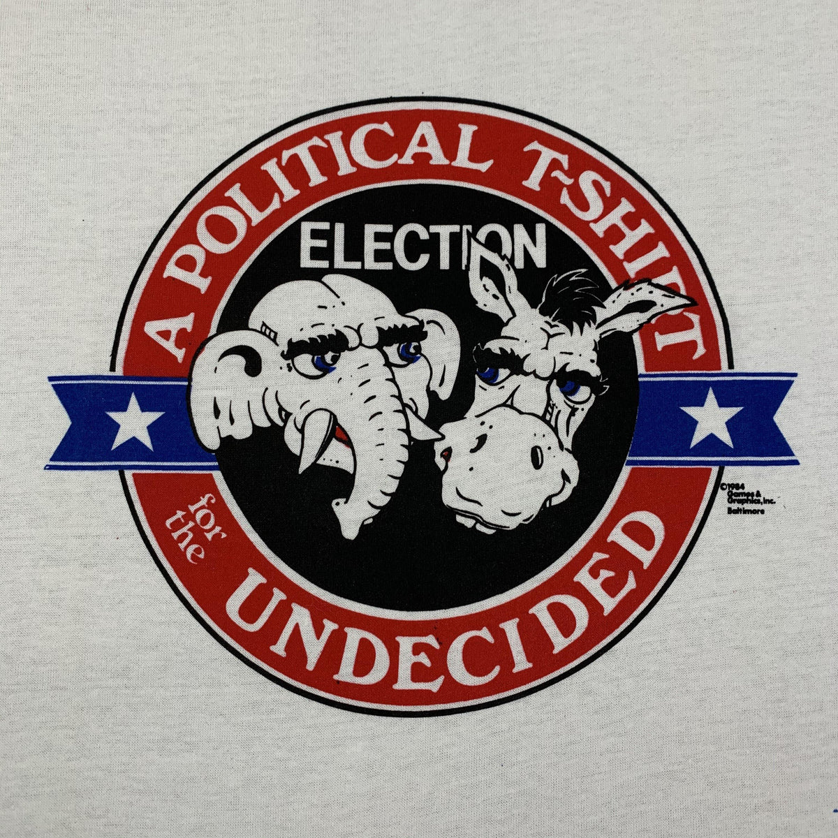 "Vintage Political ""Undecided"" T-Shirt - jointcustodydc"