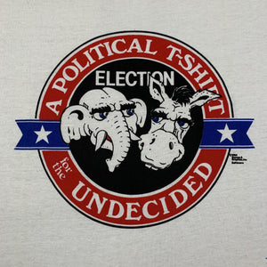 "Vintage Political ""Undecided"" T-Shirt"