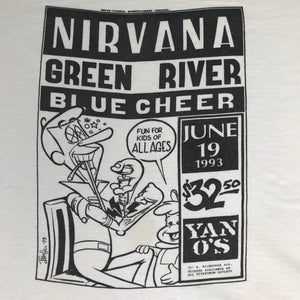 "Vintage Nirvana ""Flyer"" T-Shirt"