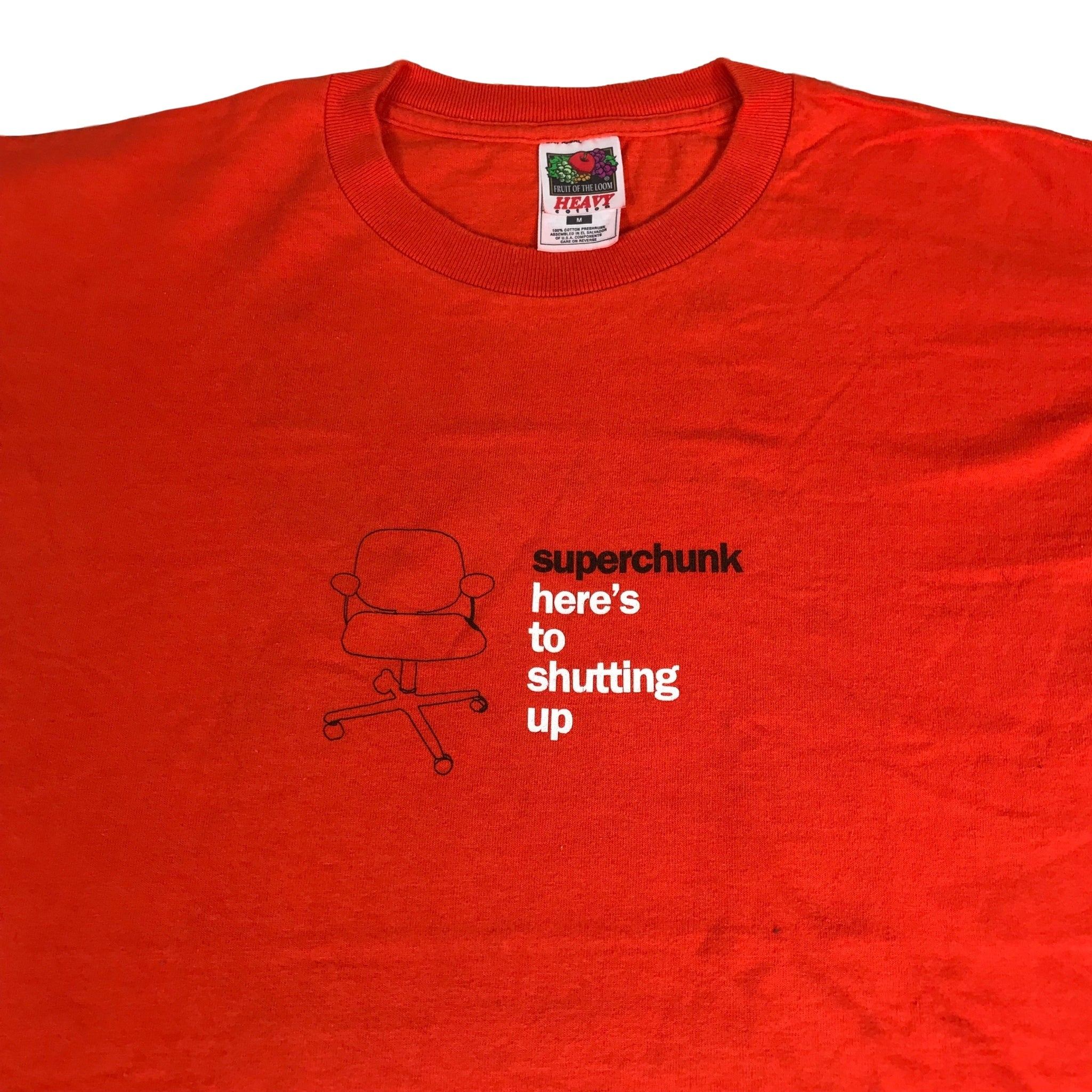 "Vintage Superchunk ""Here's To Shutting Up"" T-Shirt"