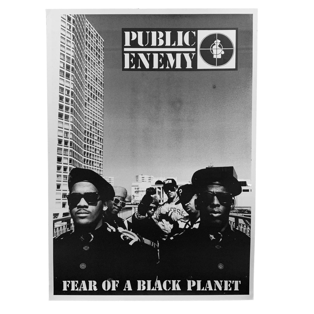 "Vintage Public Enemy ""Fear Of A Black Planet"" Poster"