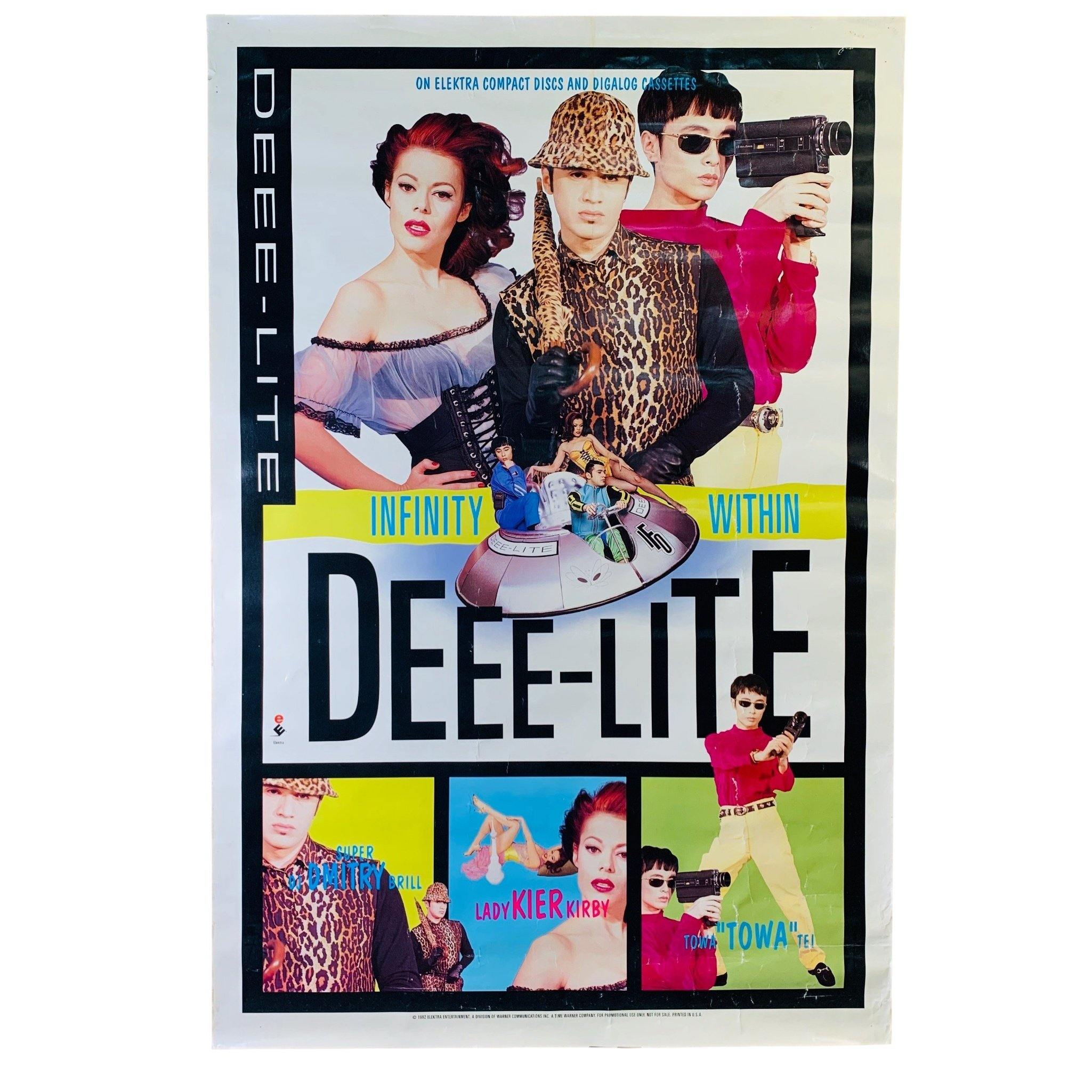 "Vintage Deee-Lite ""Infinity WIthin"" (1992) Promotional Poster"