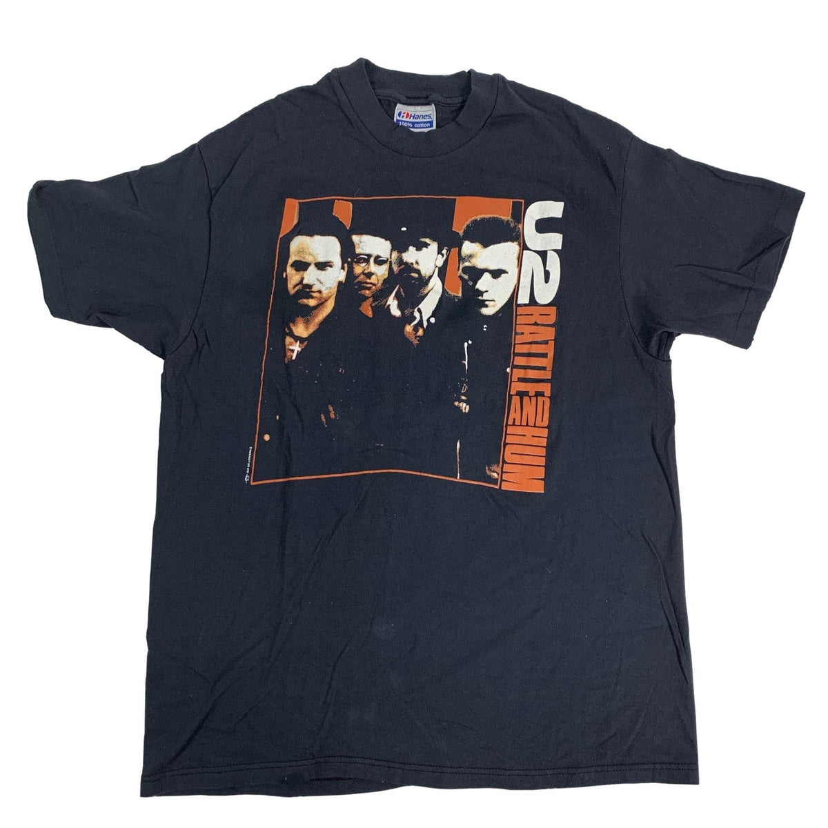 "Vintage U2 ""Rattle And Hum"" T-Shirt"