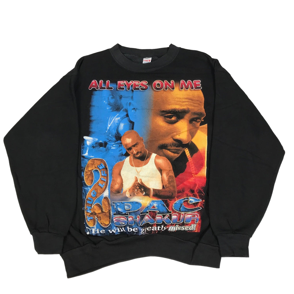 "Vintage Tupac ""All Eyes On Me"" Crewneck Sweatshirt"