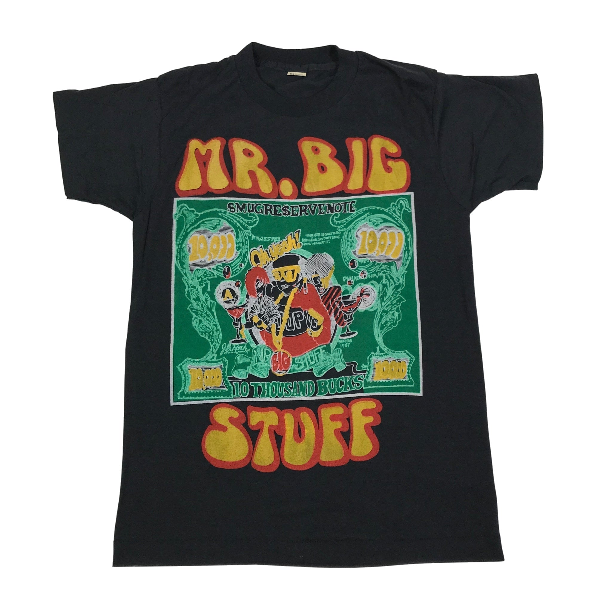"Vintage Mr. Big Stuff ""10,000"" T-Shirt"