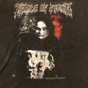 "Vintage Cradle Of Filth ""Black is My Heart"" T-Shirt"