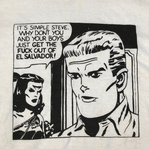 "Vintage Herbert Siguenza ""It's Simple Steve"" T-Shirt"