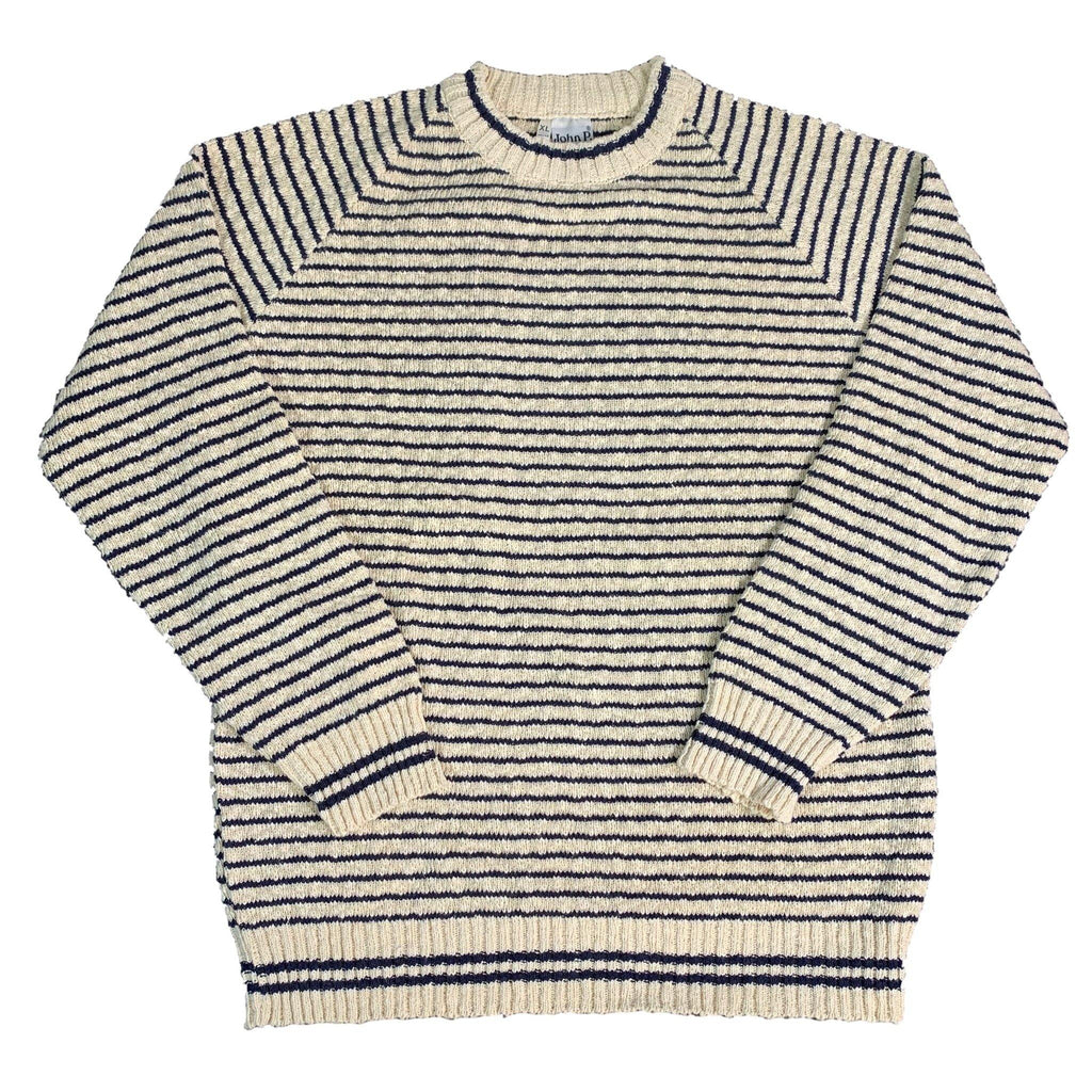"Vintage Made In Greece John P. ""Striped"" Knit"