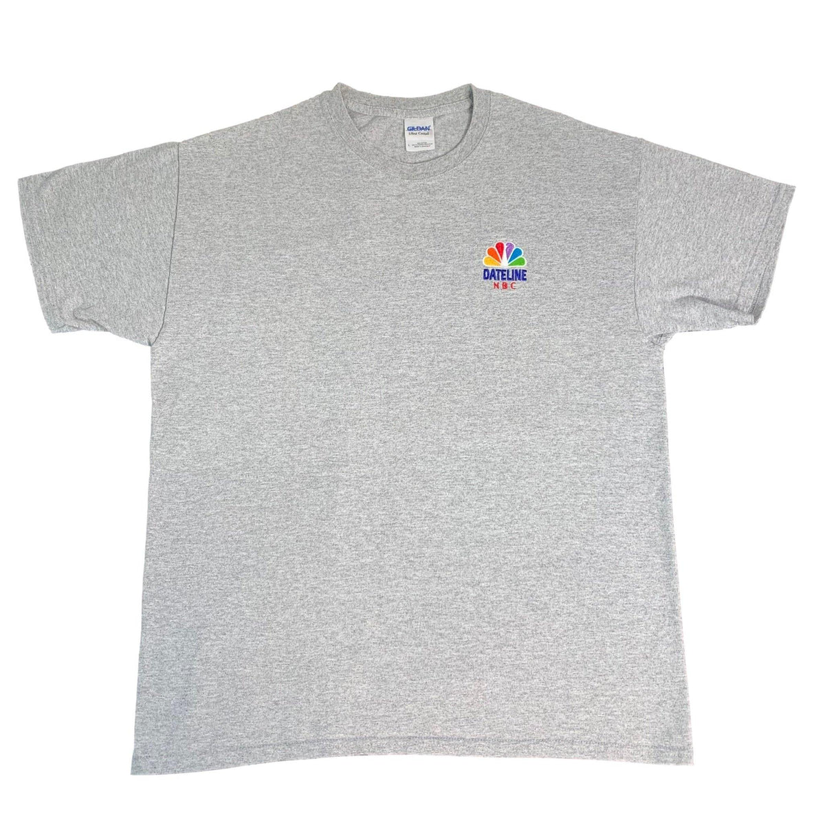 "Vintage Dateline ""NBC"" Embroidered T-Shirt - jointcustodydc"