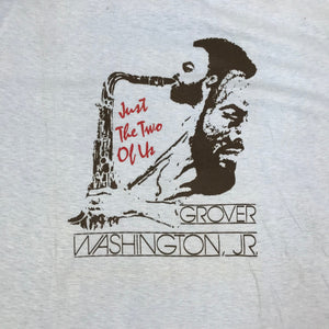 "Vintage Grover Washington JR ""Just The Two Of Us"" T-Shirt"
