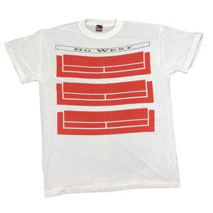 "Vintage Go West ""3D"" T-Shirt"