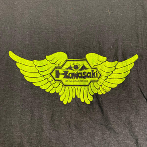 "Vintage Kawasaki ""Ezekiel's Wheel Boutique"" T-Shirt"