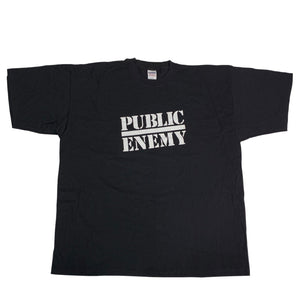 "Vintage Public Enemy ""Logo"" T-Shirt"