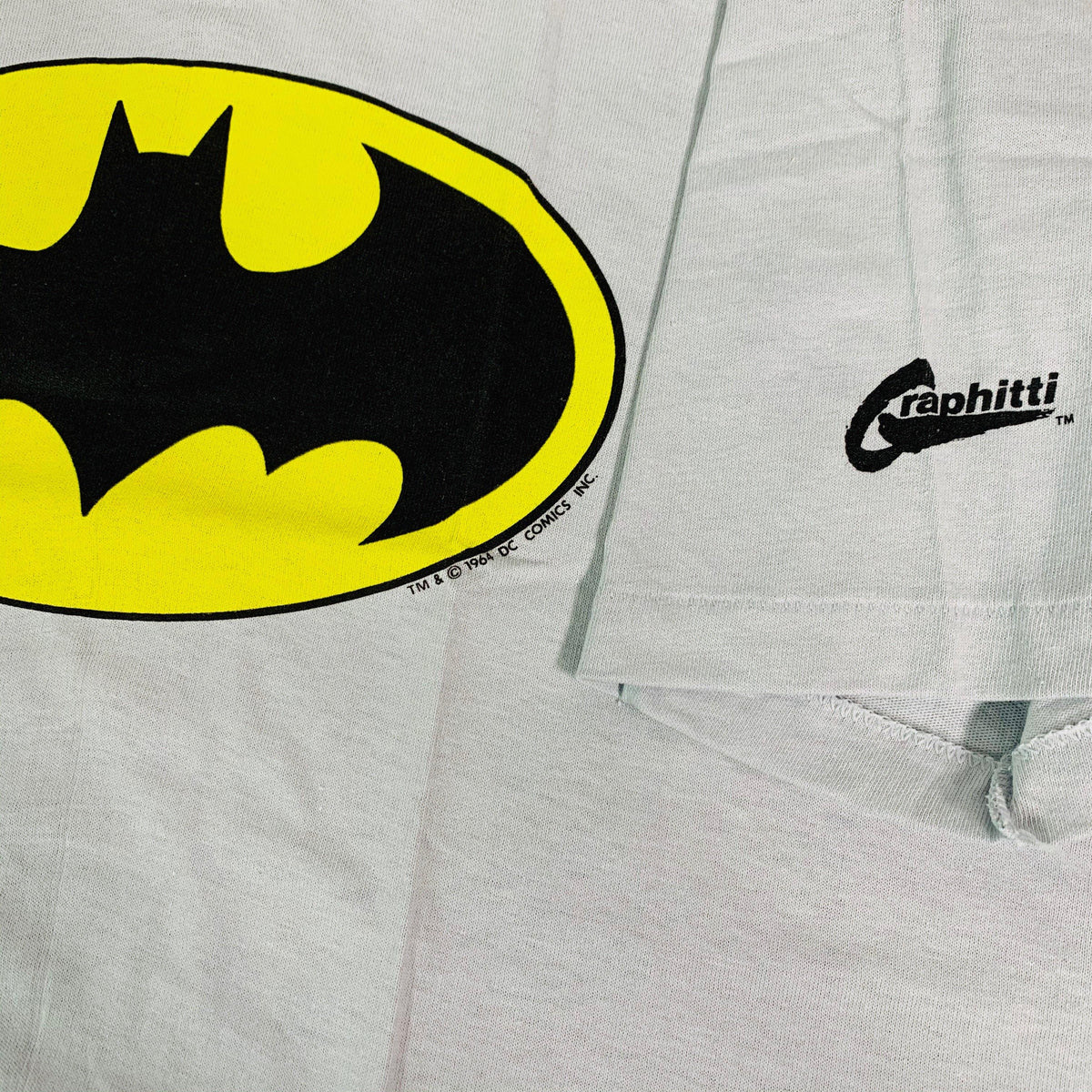"Vintage Batman ""Graphitti"" T-Shirt - jointcustodydc"
