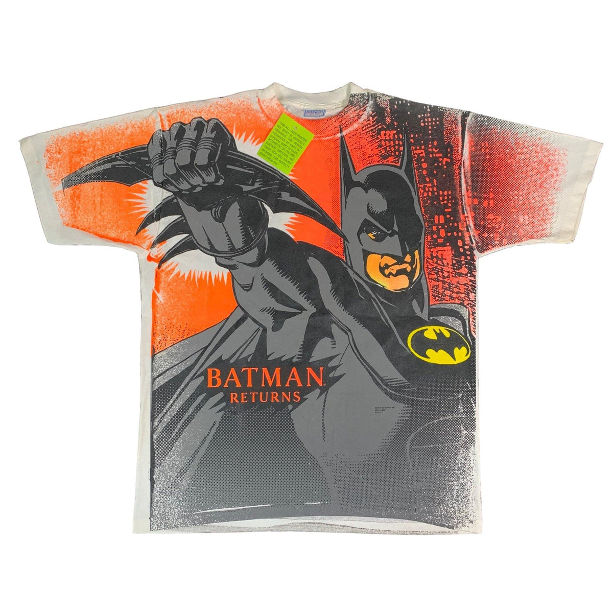 "Vintage Batman Returns ""1991"" All Over Print T-Shirt"