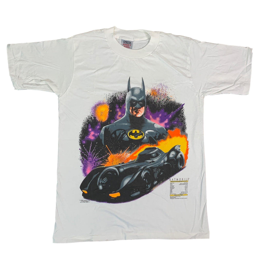 "Vintage Batman 1989 ""Batmobile"" T-Shirt"