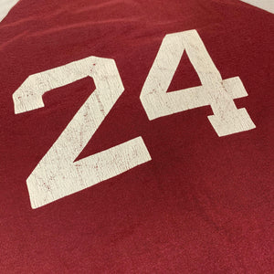 "Vintage Champion Blue Bar US Naval Academy ""#24"" Football Jersey"