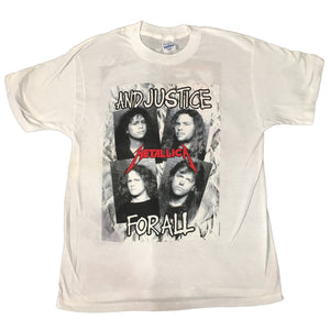 "Vintage Metallica ""And Justice For All"" T-Shirt"
