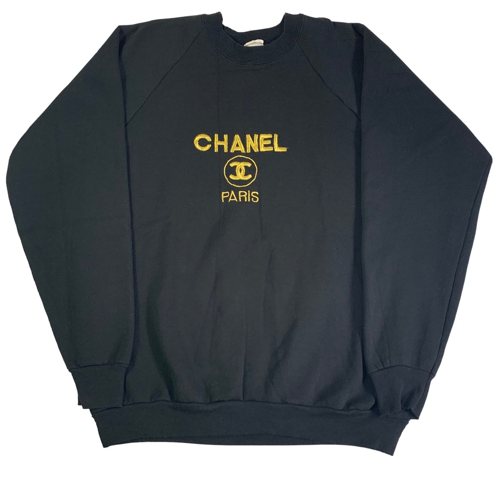 "Vintage Chanel ""Paris"" Crewneck Sweatshirt"