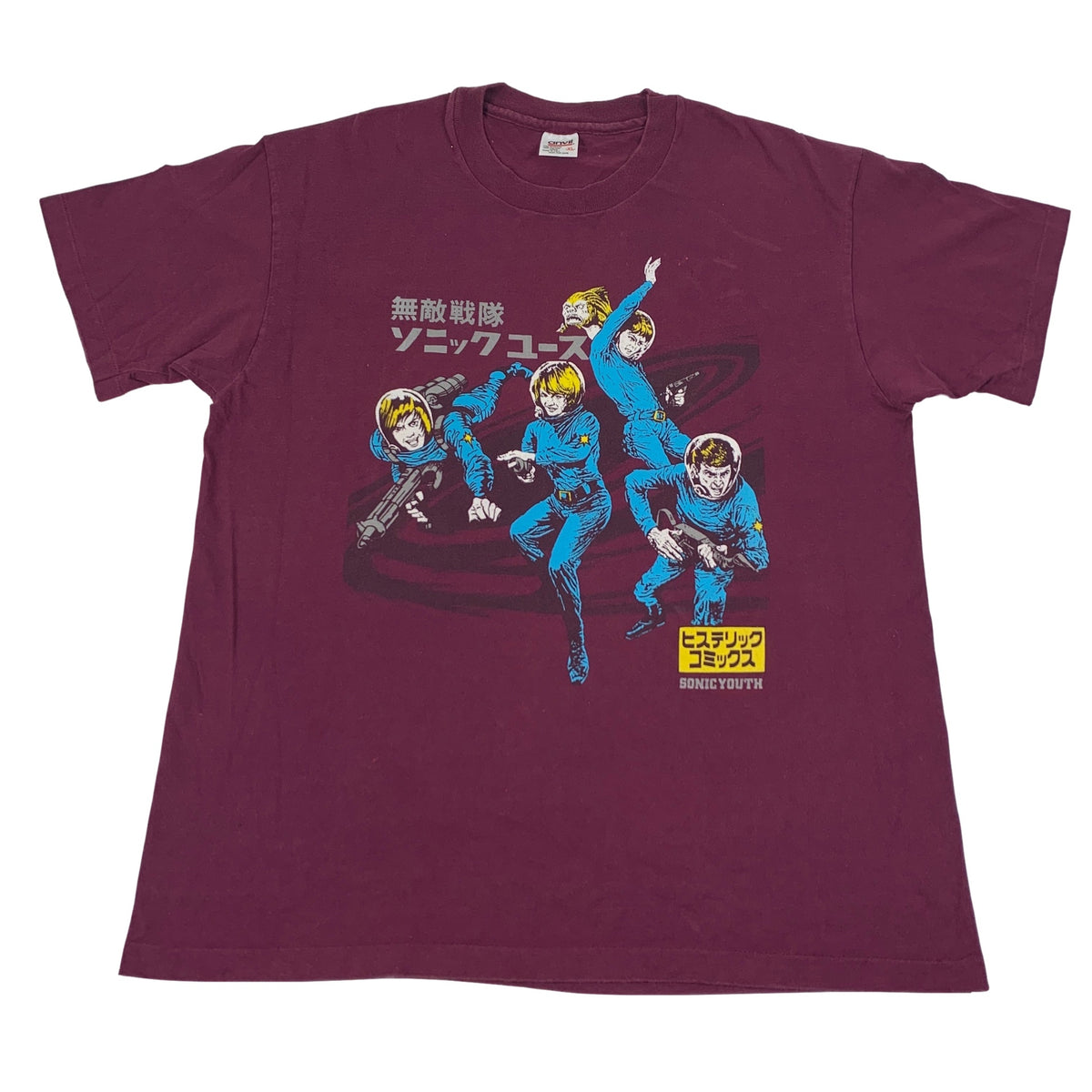 "Vintage Sonic Youth ""Comic Spaceman"" T-Shirt"