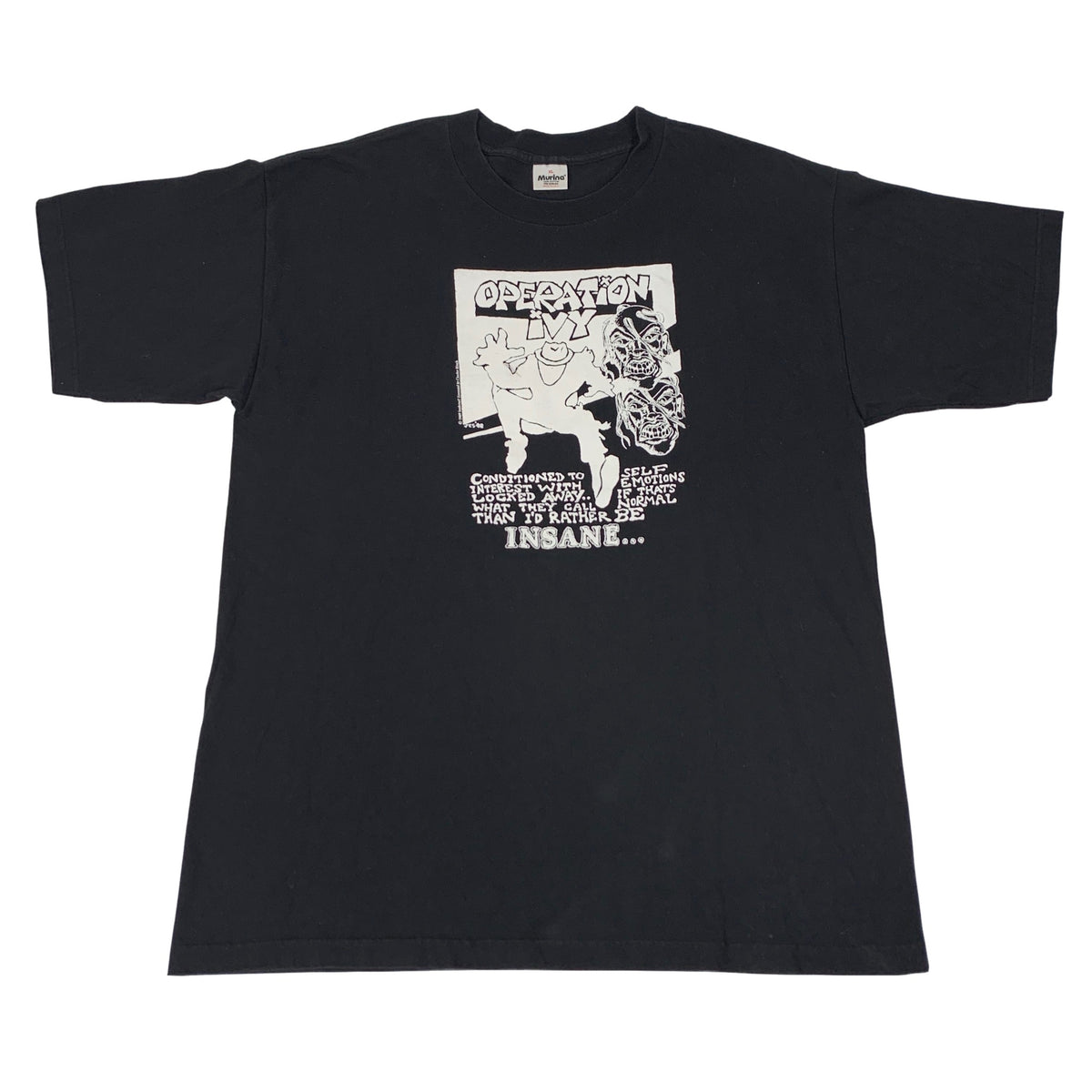 "Vintage Operation Ivy ""Here We Go Again"" T-Shirt"