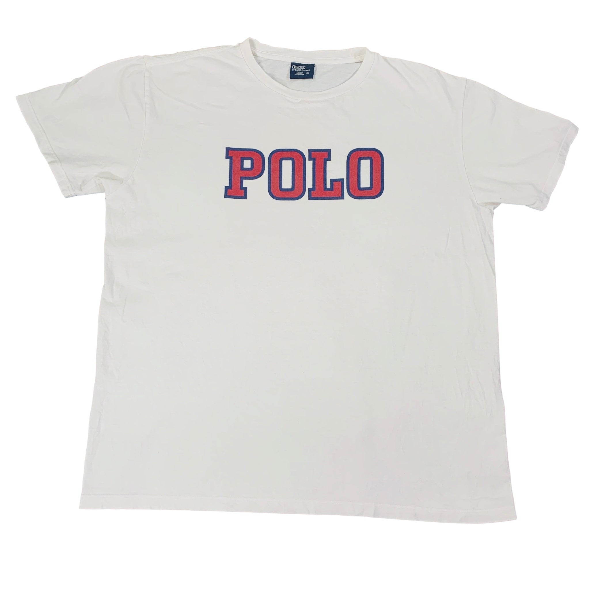 "Vintage Polo Ralph Lauren ""Spell Out"" T-Shirt"