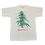"Vintage Pot Plant ""This Bud"" Puffy Ink T-Shirt"