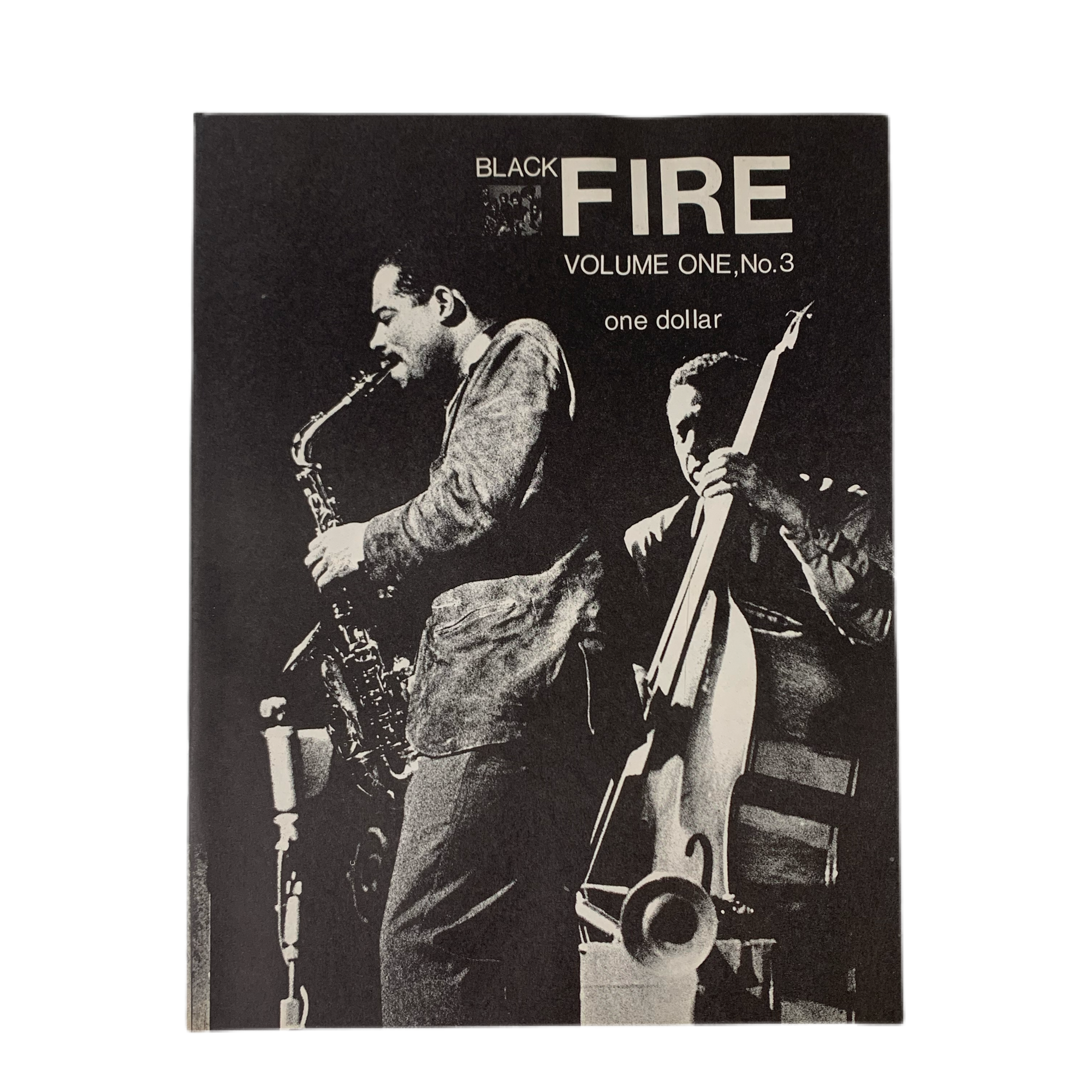 "Vintage Black Fire ""Volume One, No.3"" Zine"