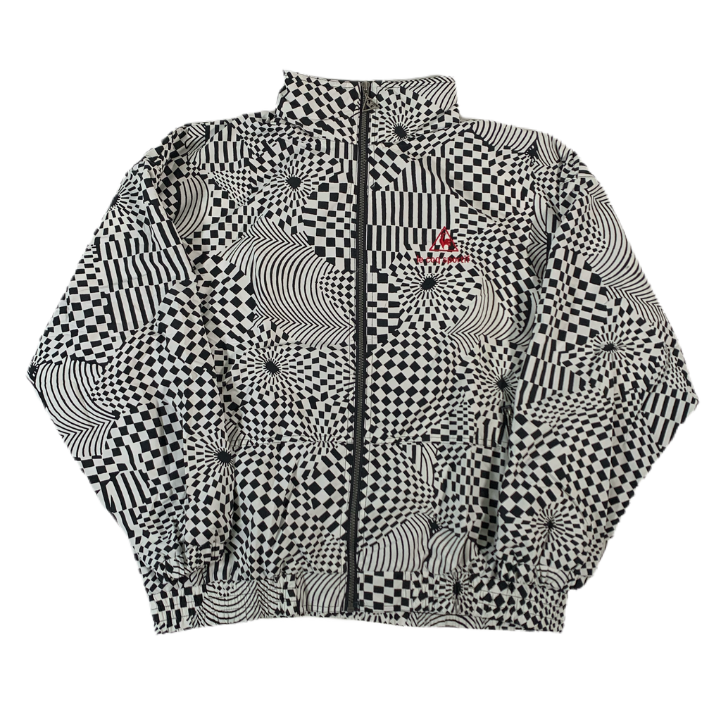 "Vintage Le Coq Sportif ""Checker"" Jacket"