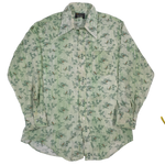 "Vintage 70's Canary ""All Over Print"" Button Up Shirt"