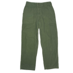"Vintage Sateen ""OG-107 Type 1"" Cotton Trousers"