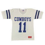 "Vintage Rawlings Dallas Cowboys ""Danny White 11"" Football Jersey"