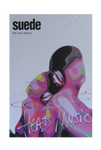 "Vintage Suede ""Head Music"" Subway Poster"