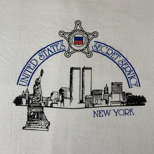 "Vintage United States Secret Service ""Twin Towers"" T-Shirt"