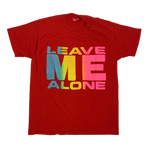 "Vintage Leave Me Alone ""Puffy Ink"" T-Shirt"