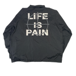 "Vintage Merauder ""Life Is Pain"" Windbreaker"