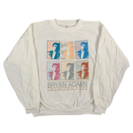 "Vintage Bryan Adams ""Into The Fire"" Long Sleeve Shirt"