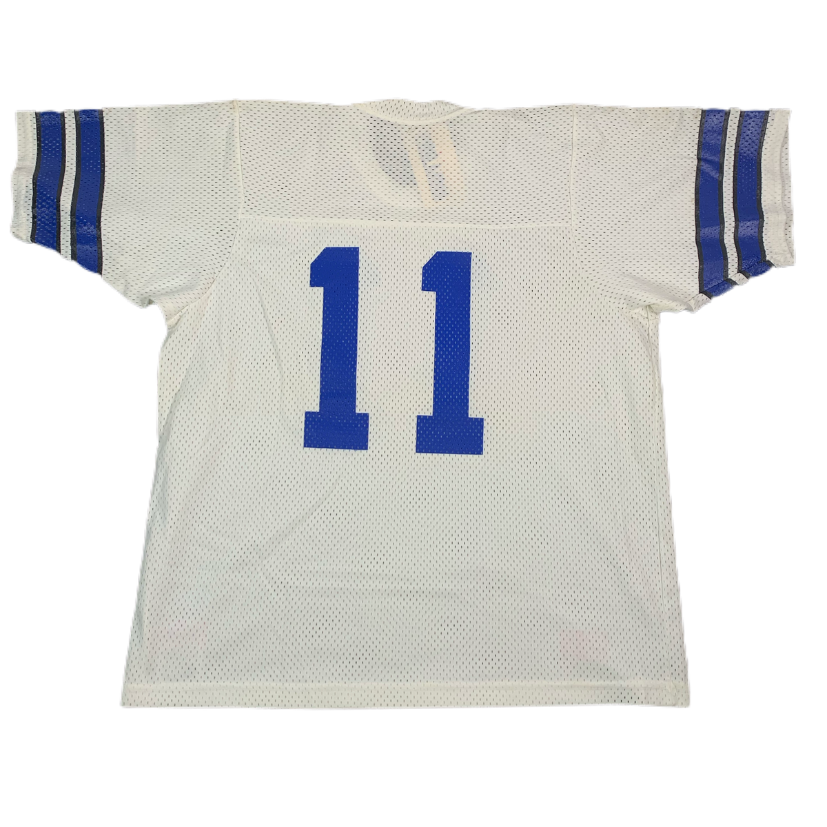 "Vintage Sand Knit ""Jeff George"" Indianapolis Colts Football Jersey"