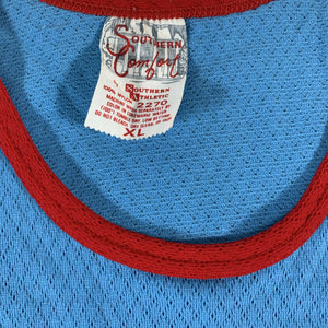 "Vintage Southern Athletic ""Baby Blue"" Basketball Jersey"