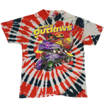 "Vintage Dirt Track Sprint Car ""World Of Outlaws"" Tie-Dye T-Shirt"