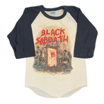 "Vintage Black Sabbath ""Mob Rules All"" Raglan Shirt"