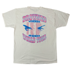 Vintage Madonna Drowned Summer 2001 Tour Shirt Back