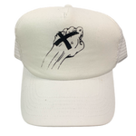 "Vintage Smorgasbord Records ""Fist"" Trucker Hat"