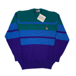 "Vintage Fila ""Striped"" Knit Sweater"