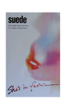"Vintage Suede ""She's In Fashion"" Subway Poster"