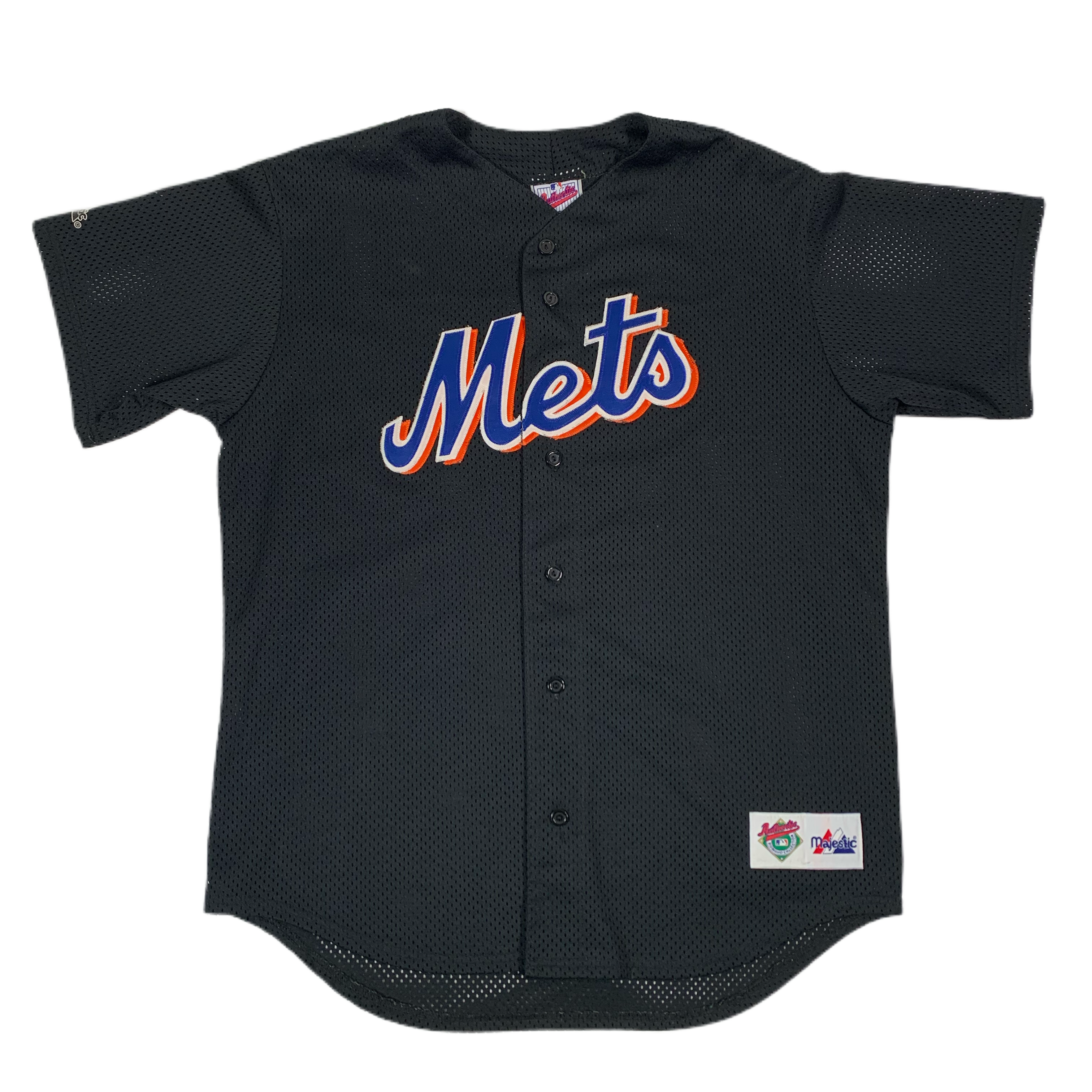 "Vintage New York Mets ""Majestic"" Baseball Jersey"