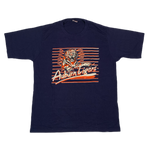 "Vintage Auburn Tigers ""Football"" Sand-Knit T-Shirt"