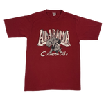 "Vintage Alabama ""Crimson Tide"" Sand-Knit T-Shirt"